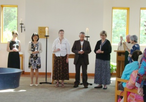 Newly Professed Secular Franciscans 2014