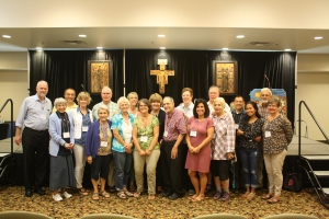 Padre Pio Fraternity Members at the 2017 ARG in western North Carolina